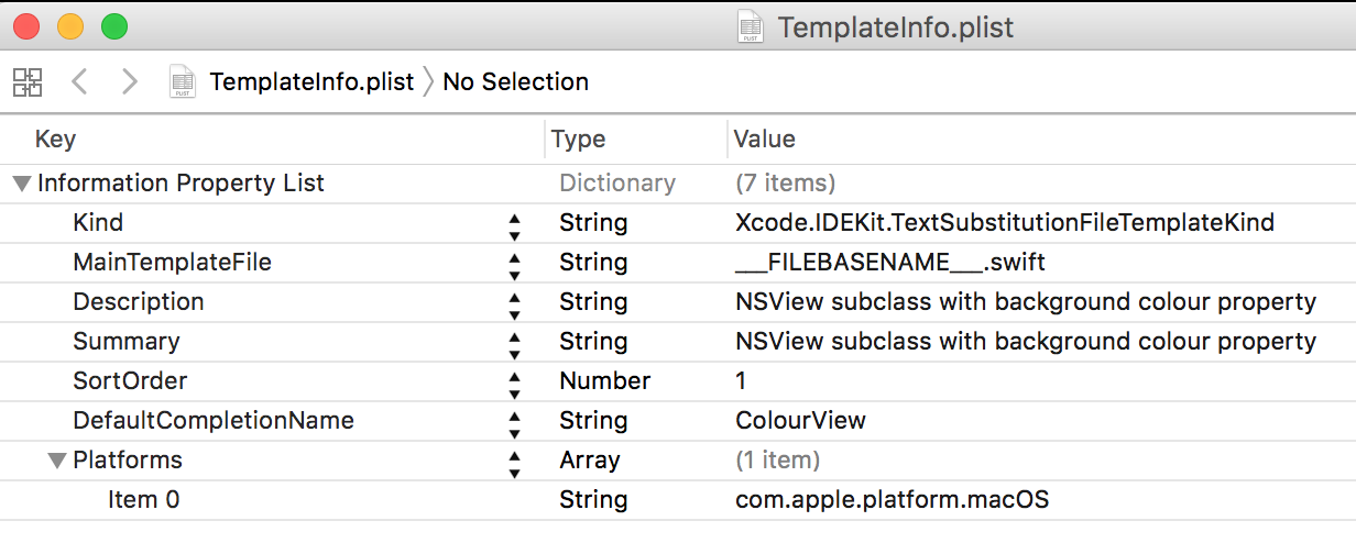 Create your own Xcode templates