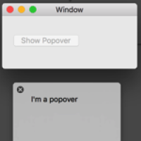NSPopover and storyboards
