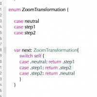 Application Design: Enums (with bonus tuple)