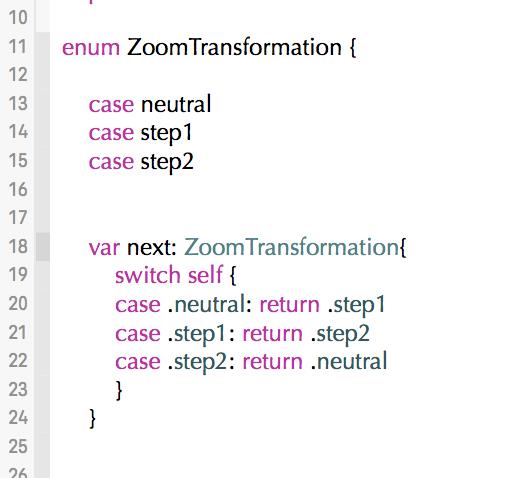 Application Design: Enums (with bonus tuple)