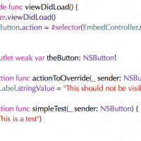 Assigning a button's action – with added bug